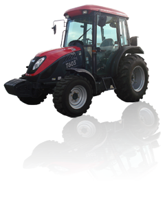 Tym Traktor T603 mit Kabine