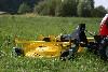 TYM Traktor T233 Hydrostat mit Frontmähwerk