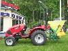 TYM Traktor T233 Hydrostat mit Streuer