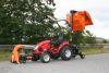 TYM Traktor T233 Hydrostat mit Laubsauger