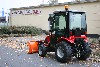 TYM Traktor T273 Hydrostat mit Kabine und Schneeschild