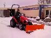 TYM Traktor T273 Hydrostat mit Schneeschild