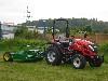 TYM Traktor T353 mit Peruzzo Schlegelmulcher