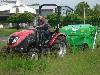 TYM Traktor T433 mit Peruzzo Schlegelmulcher